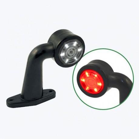 Lampa gabarit cu brat scurt cu cot 90° LED DLG 003,4 Egkal