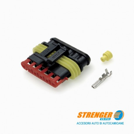 AMP Superseal Connector 5 pini