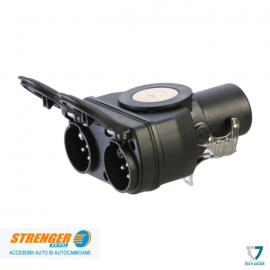Adaptor scurt GGVS/ADR 15b/ 2x7 - 24V