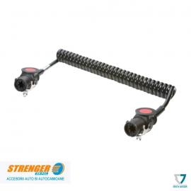 Cablu electric spiralat 15 poli/24V ADR/GGVS