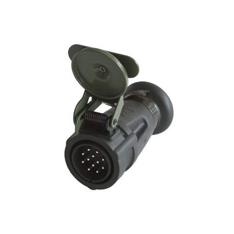 Stecher electric 24V 12 Pini Nato