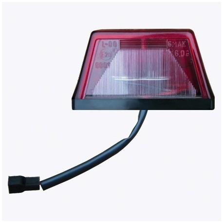 Lampa iluminat numar Nr. G 09 1 rosu