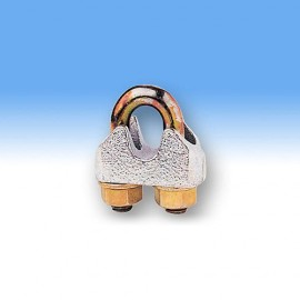 Clema de strangere | clema cablu DIN EN 13411-5 zincata.