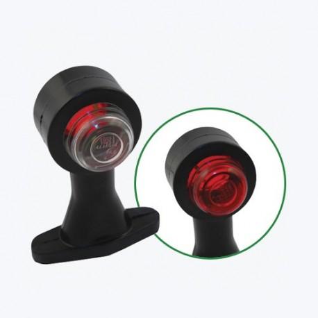 Lampa gabarit cu brat drept LG 001,1 rosu alb