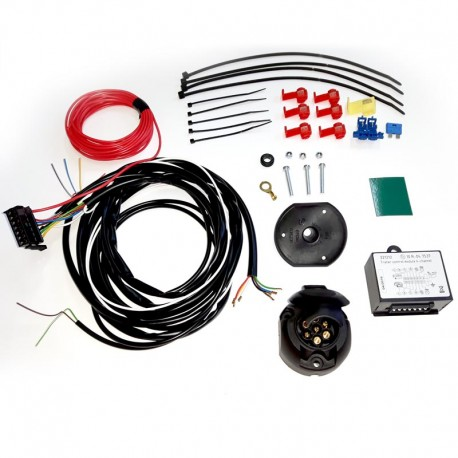 Instalatie electrica carlig remorcare cu priza 7 pini