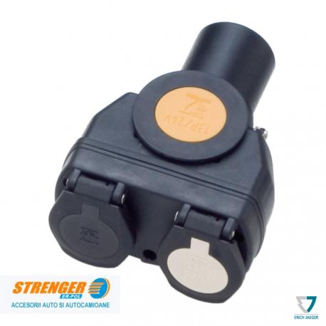 Adaptor scurt GGVS/ADR 13b/ 2x7 - 24V