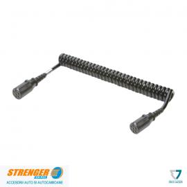 Cablu electric spiralat 24V/7b stecher plastic