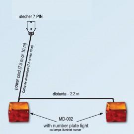 Set echipament de iluminat cu MD-002