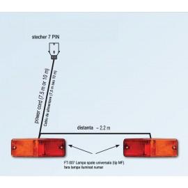 Set echipament de iluminat cu FT-007