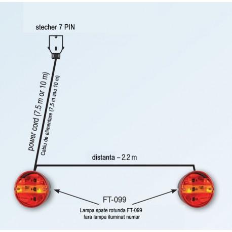 Set echipament de iluminat cu FT-099