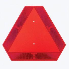 Triunghi reflectorizant mers lent