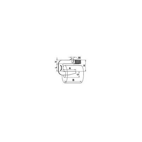 Dispozitiv de ridicat rulouri cu gheara Do 410